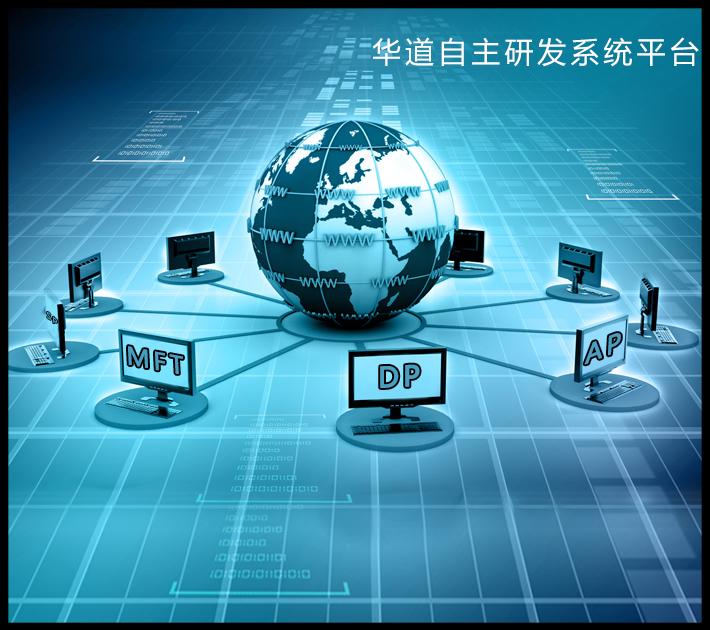 华道DP系统助力银行自建后援中心