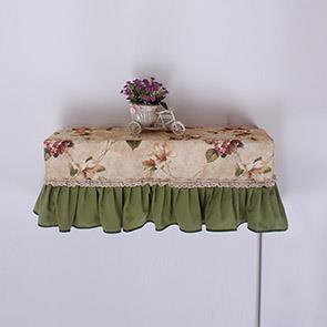 绿色大花空调罩