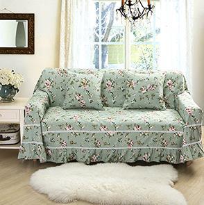 绿色帆布沙发罩