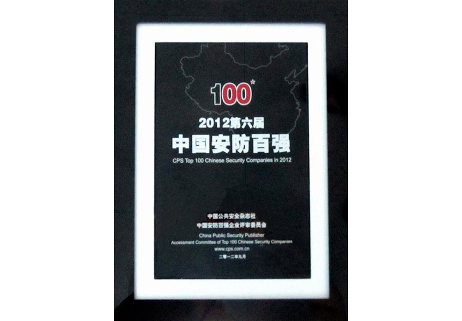 2012安防百强