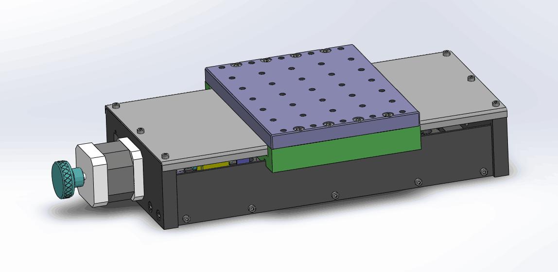 epse-a/b封闭式电动平移台图片