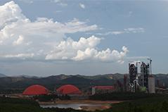 越南蓝河2×6000t/d水泥生产线总承包及2x7MW余热发电工程