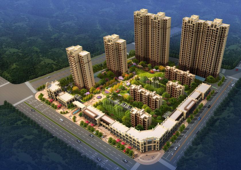 江苏南通如皋市御锦馨河城园林景观设计
