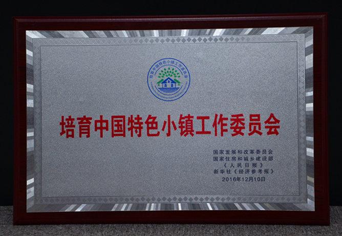 培育中国特色小镇工作委员会