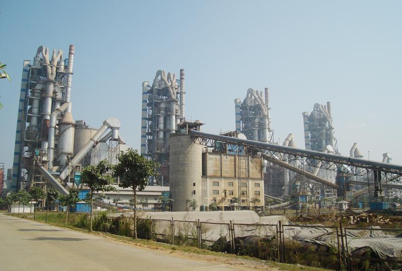 台泥(英德)水泥有限公司2×5000t/d水泥生产线安装工程