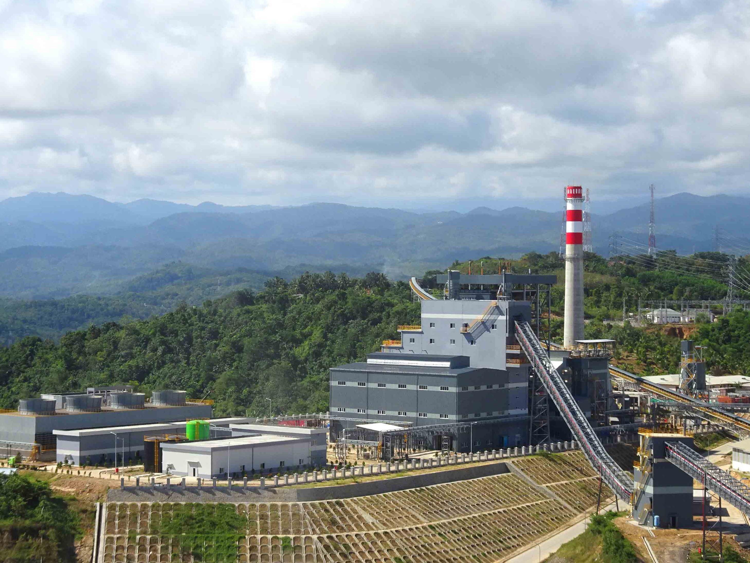印尼BAYAH 2×60MW电厂一期项目EPC