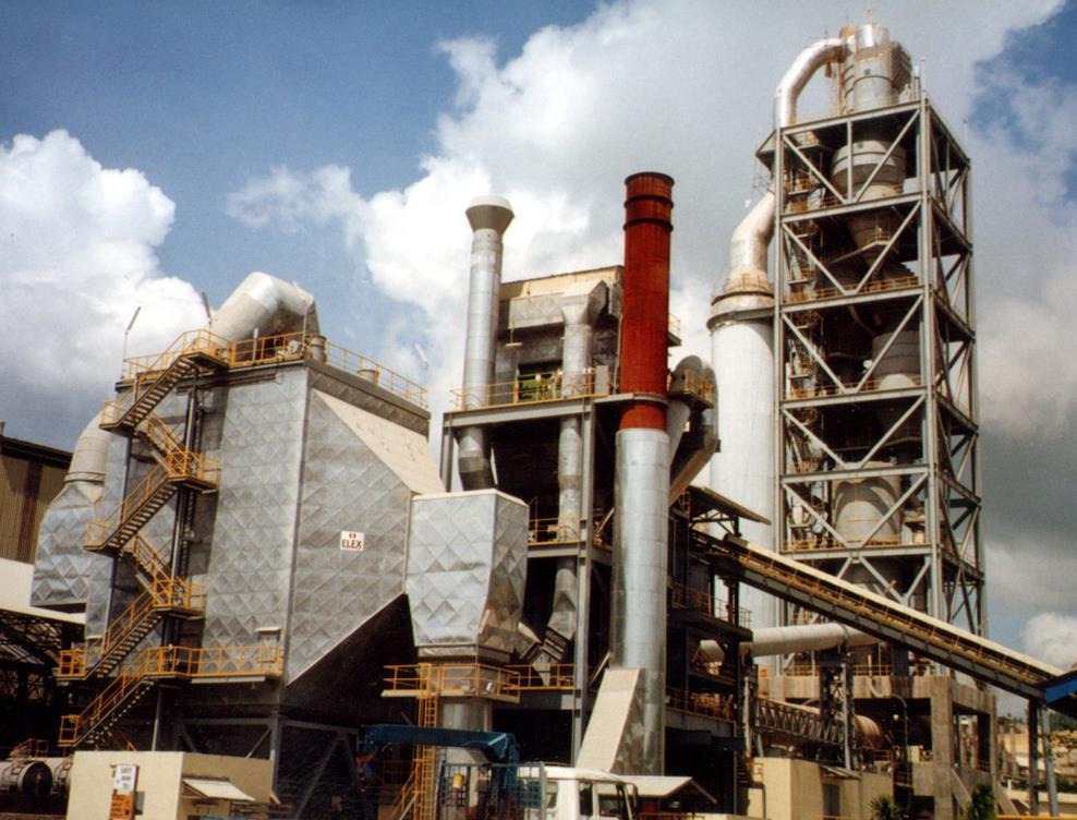 菲律宾APO-1水泥厂(2000t/d)设备安装工程
