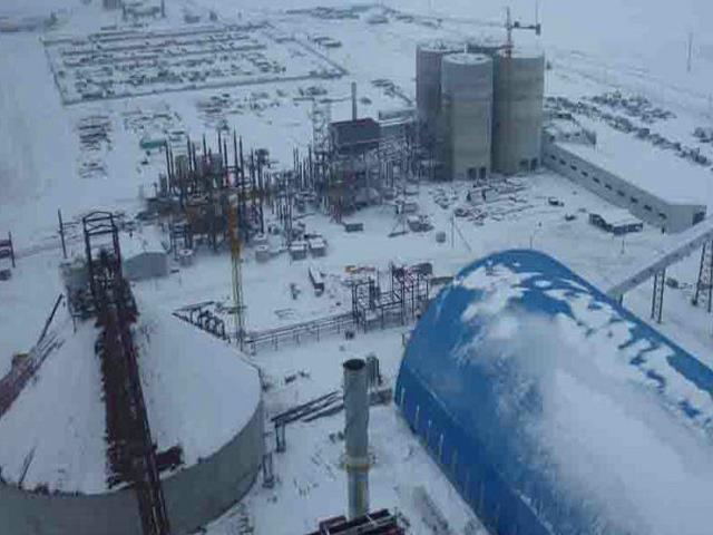 哈萨克斯坦阿克莫林州耶别克什勒杰尔斯克区后湖村5000t/d水泥生产线安装工程