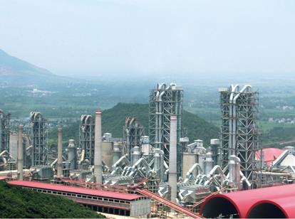 芜湖海螺2×12,000t/d & 4×5,000t/d 水泥生产线