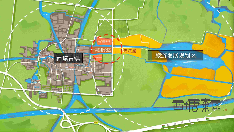 东坝头农场地图