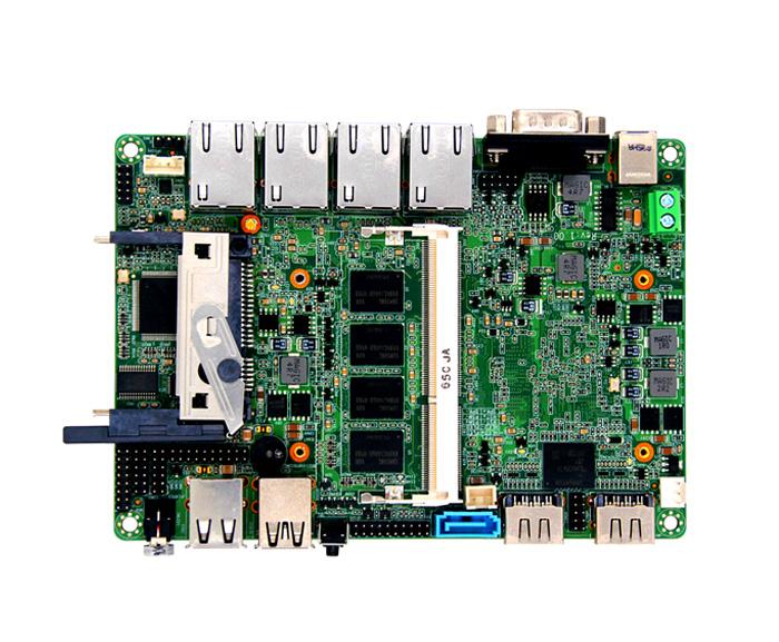 处理器系统CPU Apollo lake系列处理器CPU封装BGA芯片组Apollo lake单芯片BIOSEFI BIOS内存技术架构单通道DDR31066/1333/1600/1866MHz容量集成2GB4GB DDR3插槽可添加1条插槽,最大扩展8GB内存视频图形控制器Intel HD GraphicsDual LVDS和EDPLVDS支持双通道24位输出,最高分辨率1920 x 1200 EDP最高支持分辨率为4096*2160(LVDS和EDP显