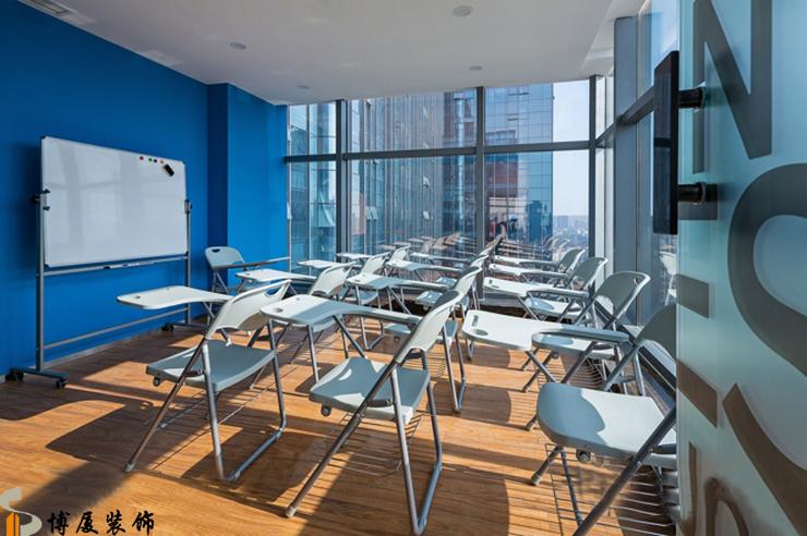 英语培训机构现代风格办公室装修设计