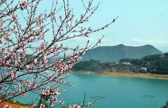 """湖南省郴州的资兴市境内,东江湖被誉为""""南国明珠"""",""""东方瑞士"""",白廊乡"""