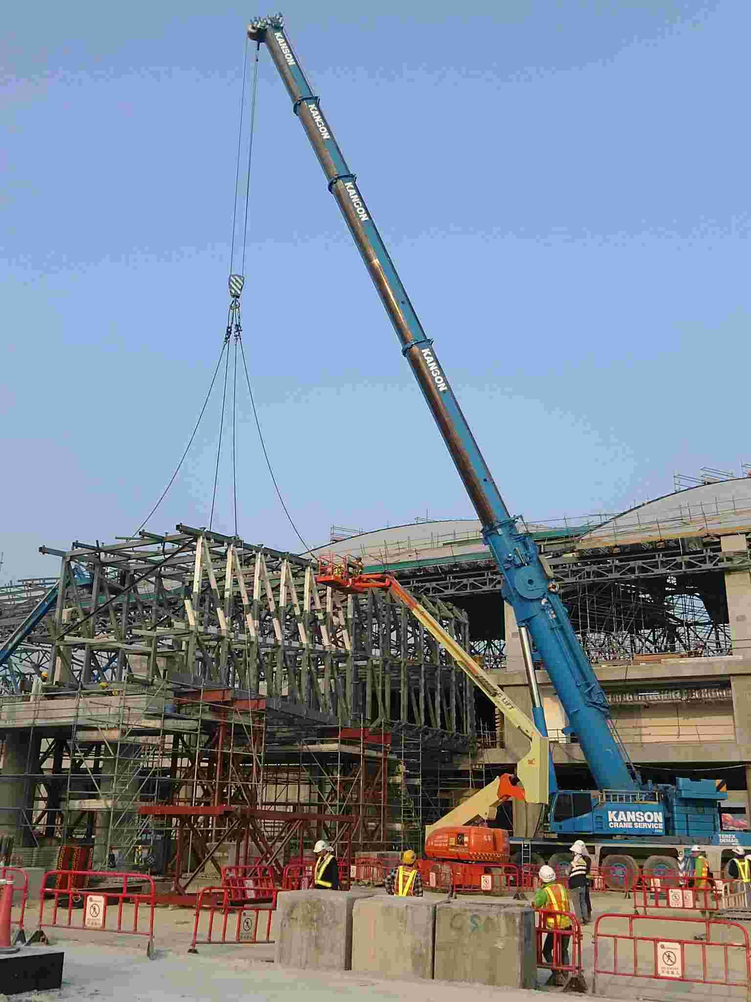香港机场幕墙钢结构防腐工程 - 钢结构防火涂料 - 市