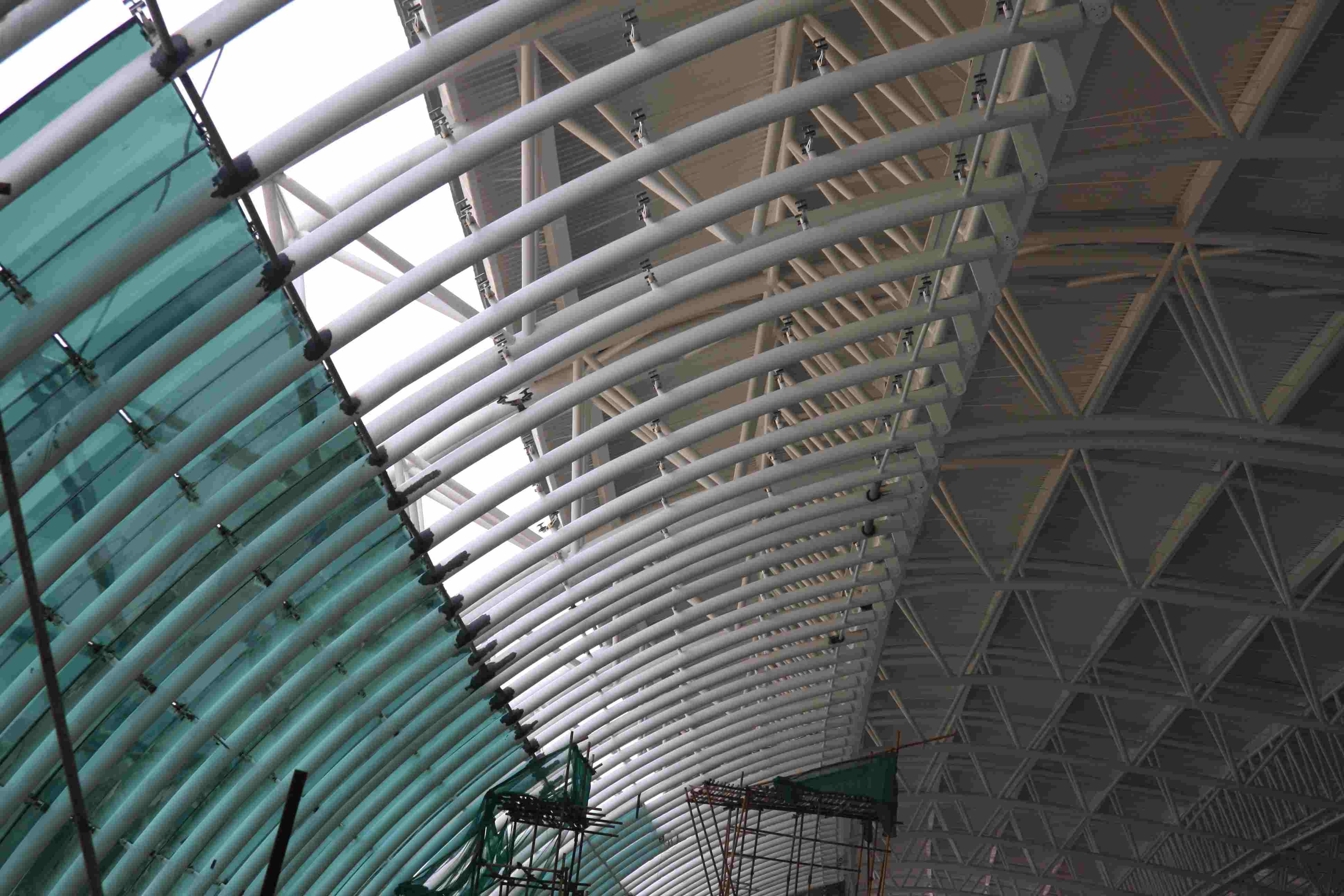 广州新白云机场幕墙钢结构防腐工程