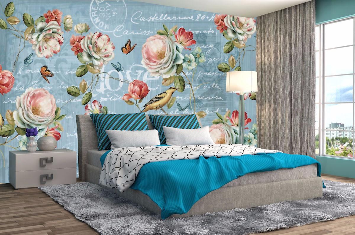 复古花卉壁画FG04