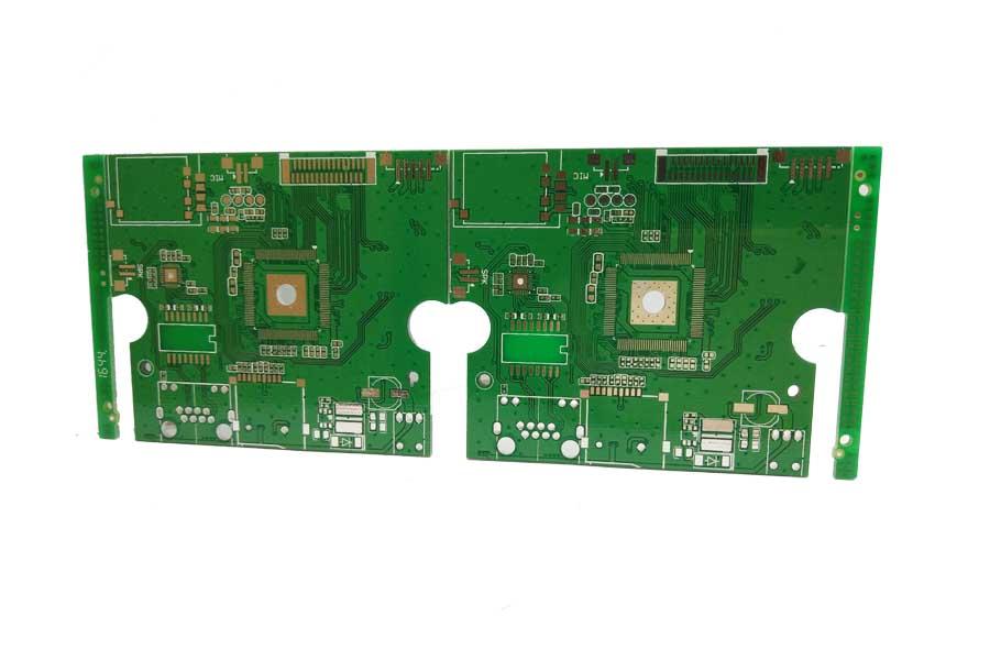 双面喷锡pcb电路板