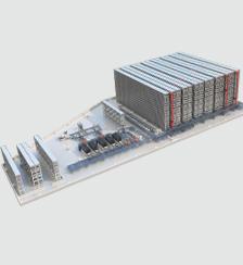 新能源电池线库一体解决方案