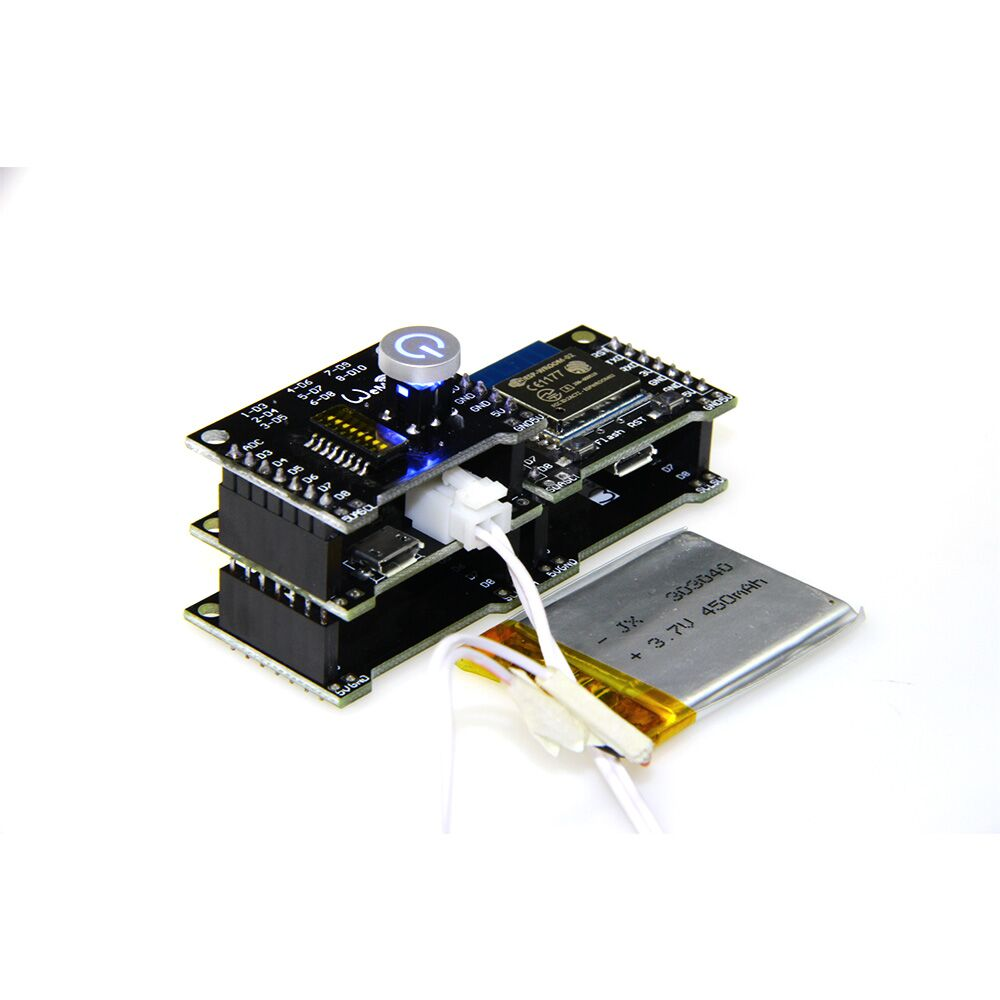 wemos-project esp8266 wifi & bluetooth basis esp-wroom-02 learni