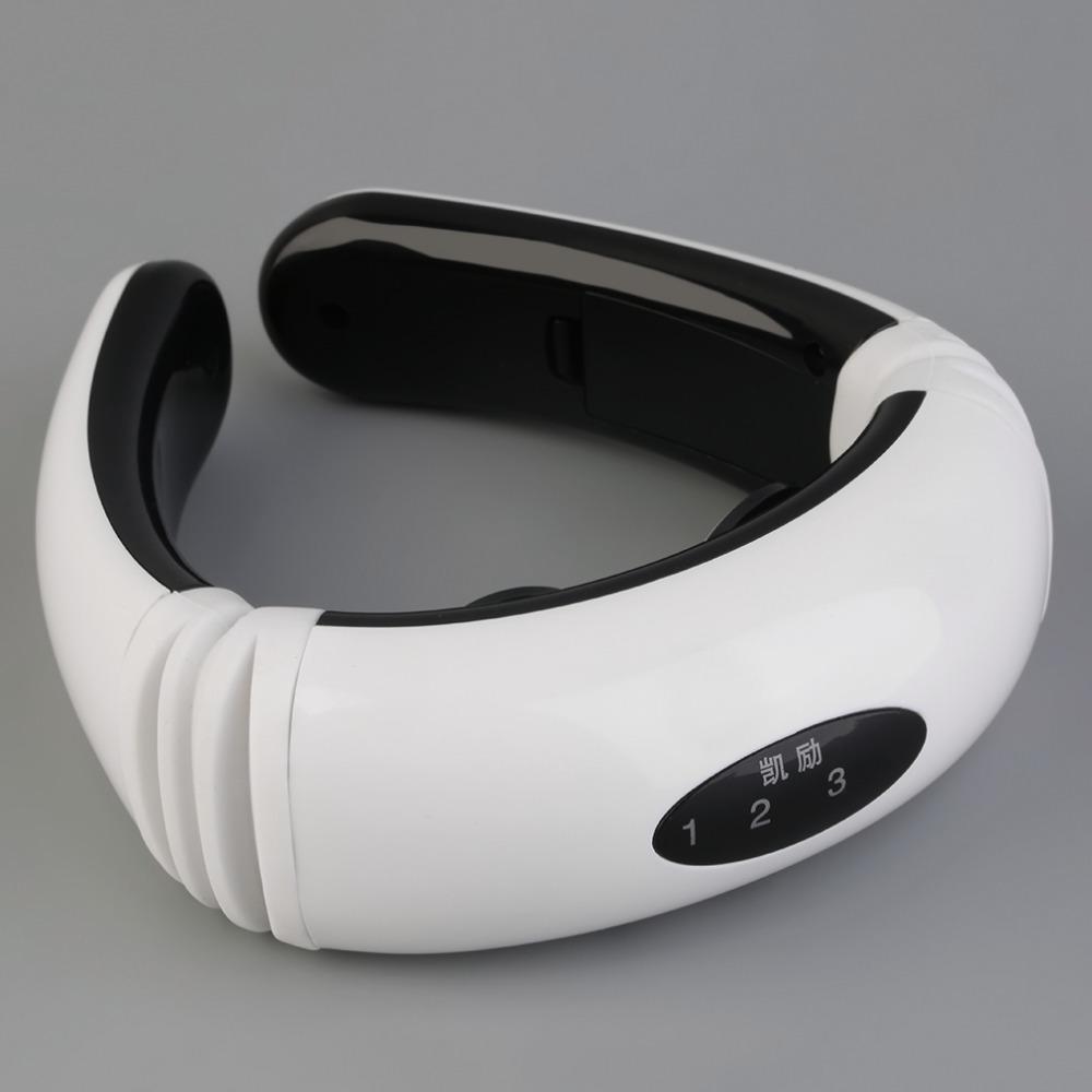 健颈椎治疗器颈椎病按摩器家用热敷枕头牵引颈部肩周炎理疗仪01