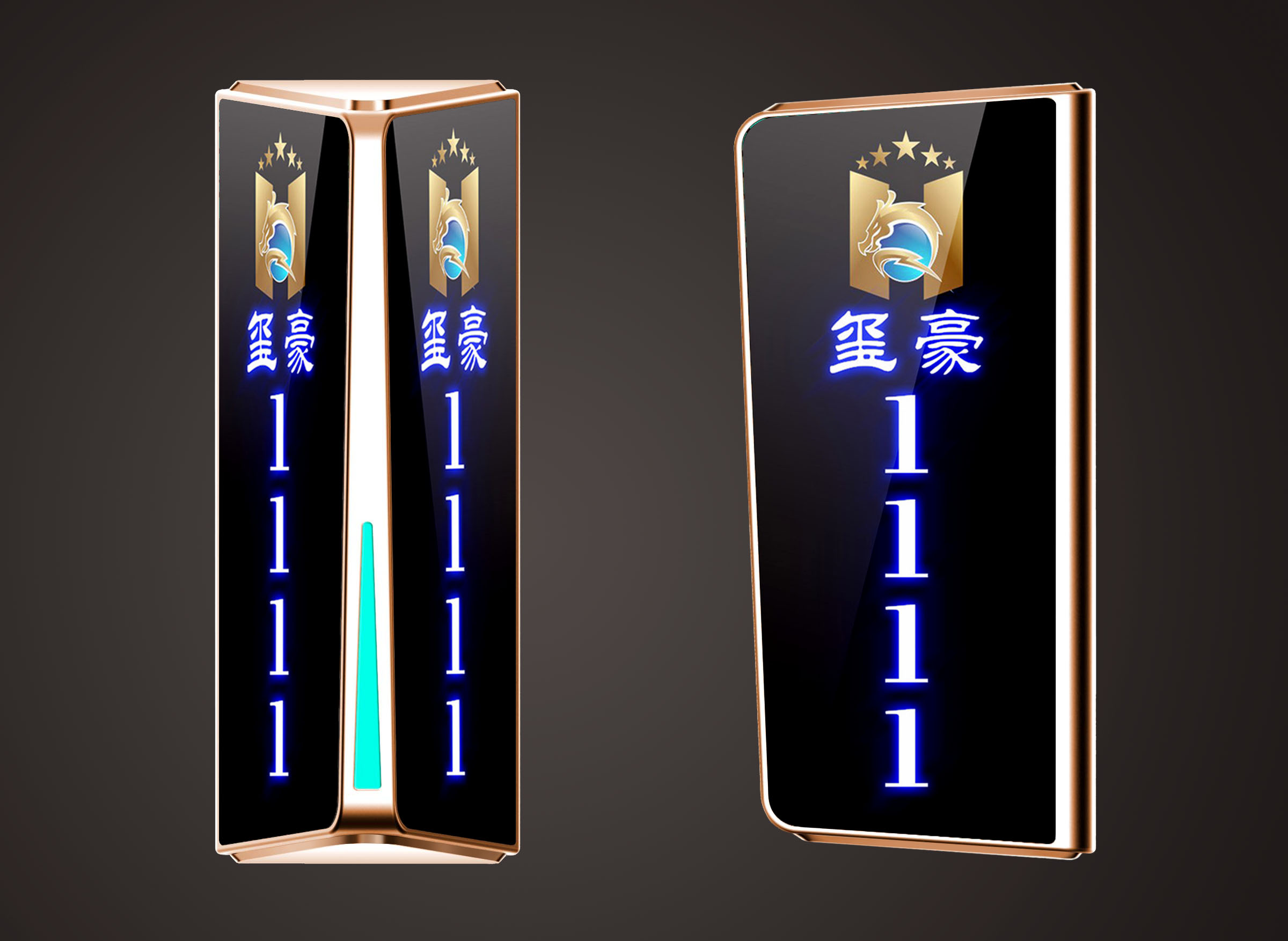 frx-308锌合金门牌灯