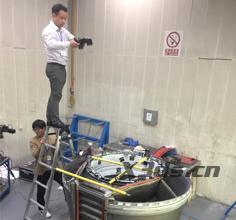 飞机引擎隔音舱扫描案例