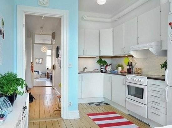 北欧风厨房,让简单的东西更美图片