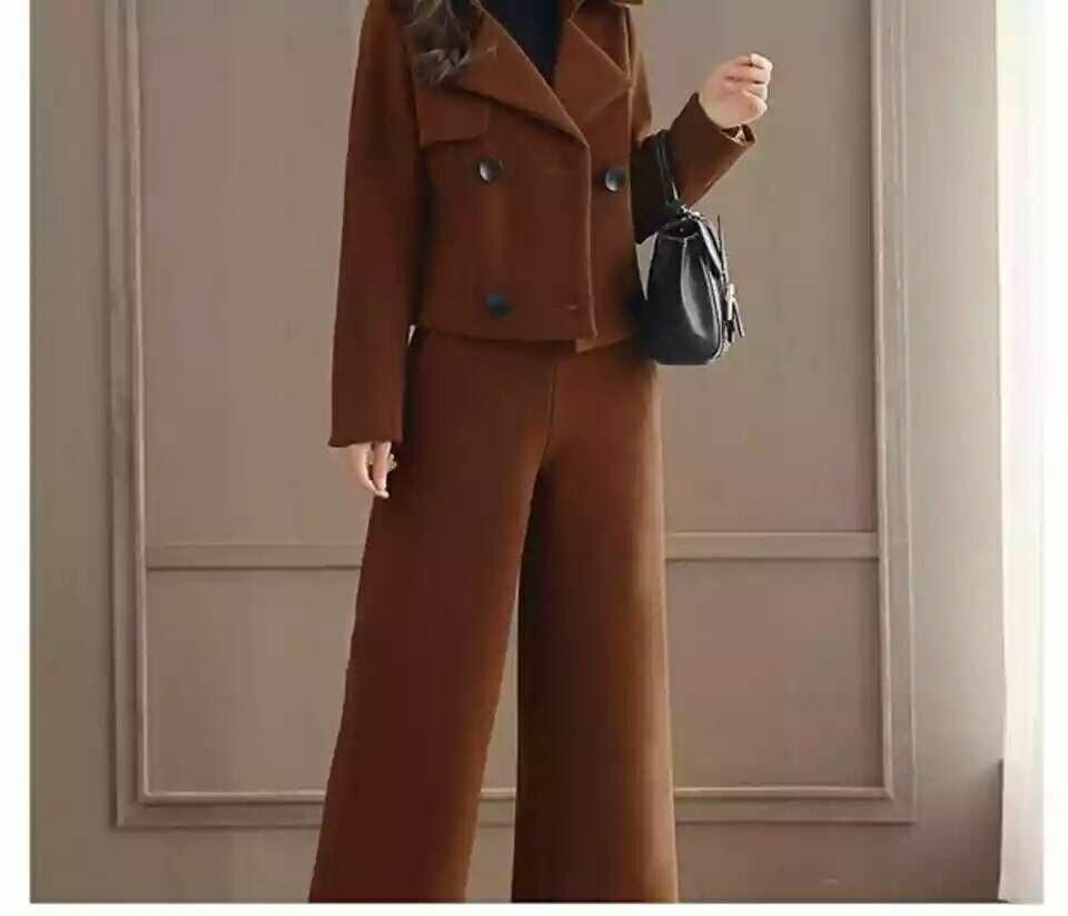 时尚毛呢套装