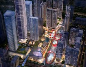 岗厦河园片区城中村改造项目北区T6套房批量精装修工程