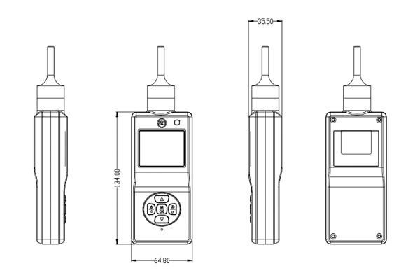 ES20B-CL2泵吸式氯气检测仪