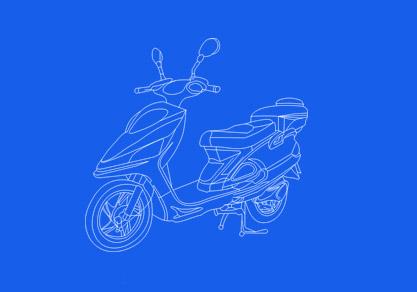 电动摩托车电池