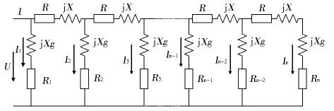 钳形表测量线路杆塔接地电阻等值电路图