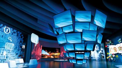 数字化展示技术在体育主题文化馆设计中的应用