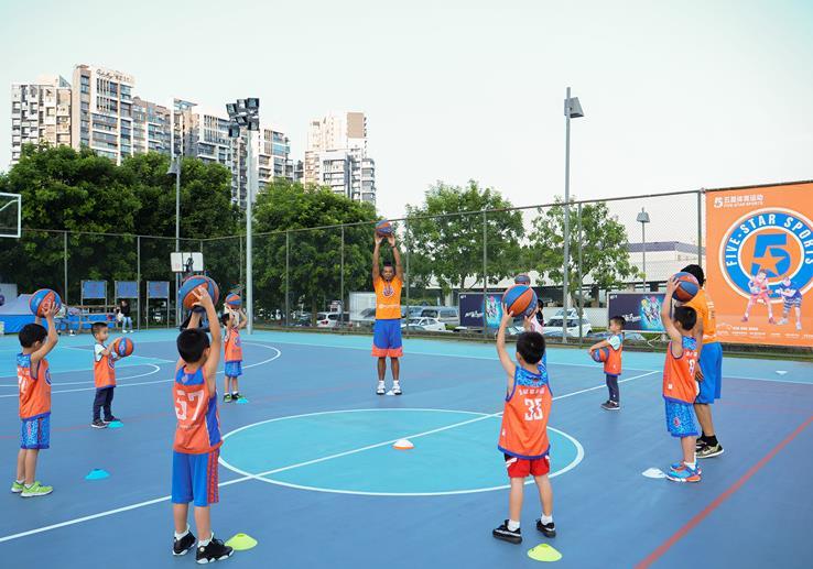 五星家长篮球训练体验免费专场