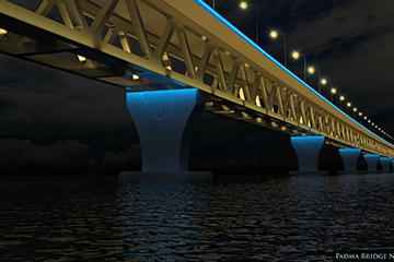 Padma Bridge - Main Bridge孟加拉帕德玛大桥