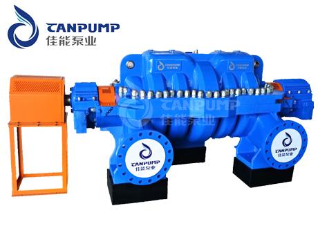 佳能泵业自主研发多级中开泵填补国内市场空白