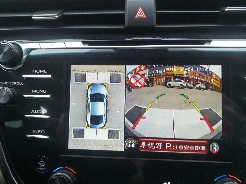 【最新版豐田凱美瑞】安裝車視野360°全景