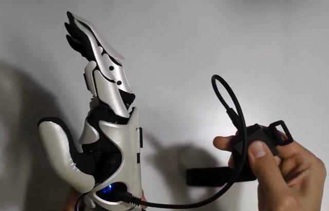 The pioneering work for the benefit of society: 3D printing high sensitivity bionic arm