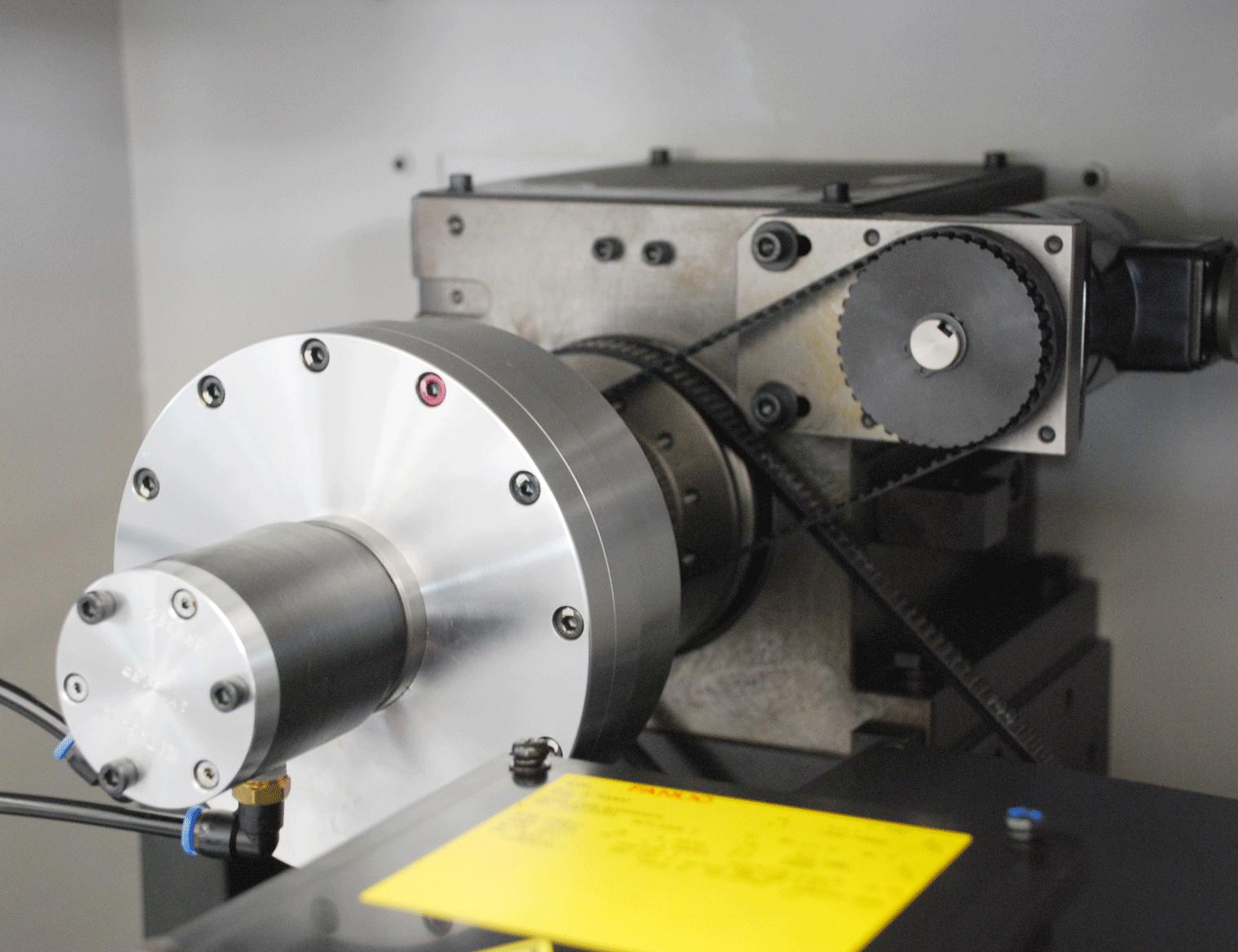 小型精密CNC排刀式车床20G