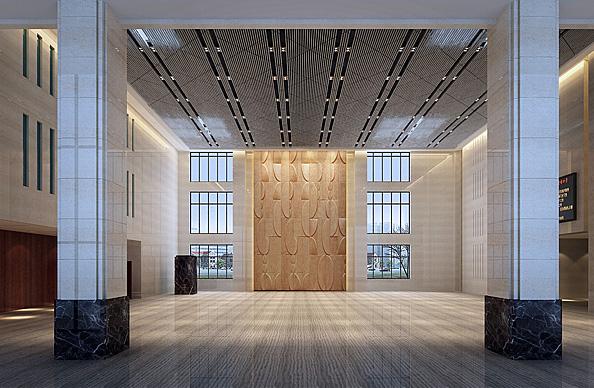 武漢美術館大堂
