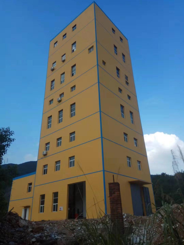 大冶铁矿主井井塔楼电梯项目顺利完工