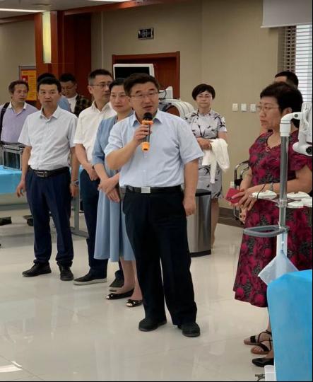 镜训联合  上海成运走入基层医疗