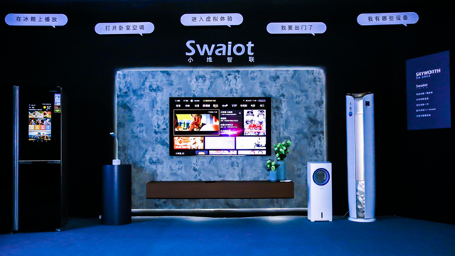 Skyworth held a new product launch conference in Beijing to explore the infinity, two heavy-duty smart TVs debut