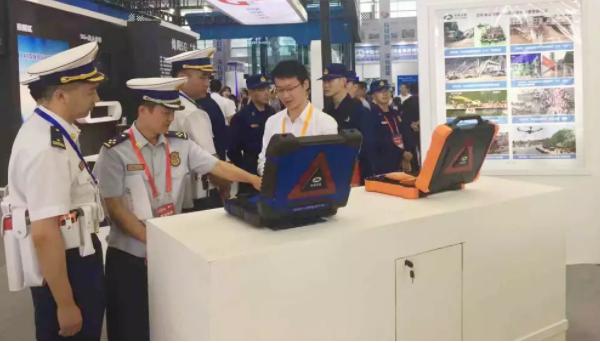 中国应急参加第七届中国(绵阳)科技城国际科技博览会