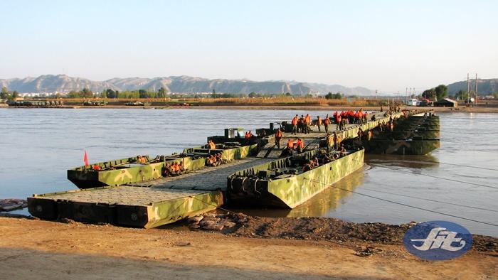 HZFQ60应急分置式舟桥