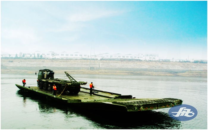 HZFQ70应急动力舟桥
