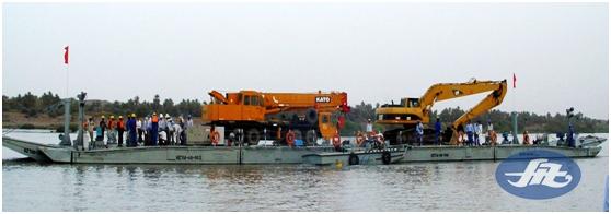 组合式工程船