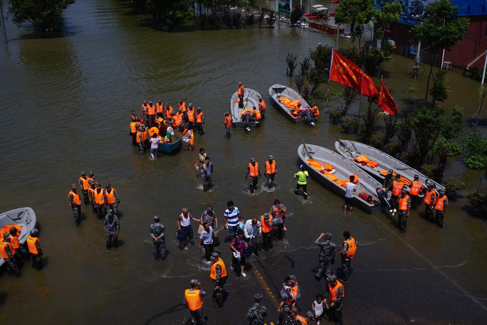 应急救援处置装备-冲锋舟