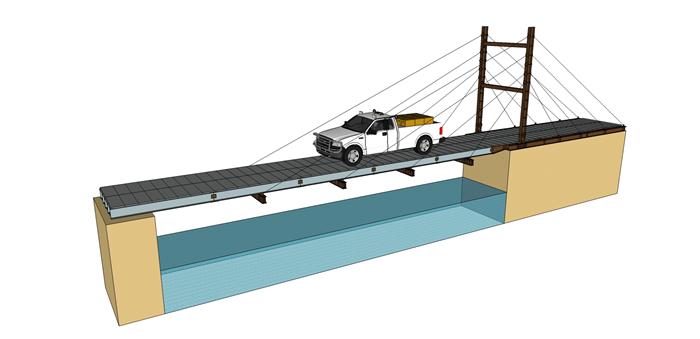 美国研制一种用于应急救灾的轻型复合材料移动桥