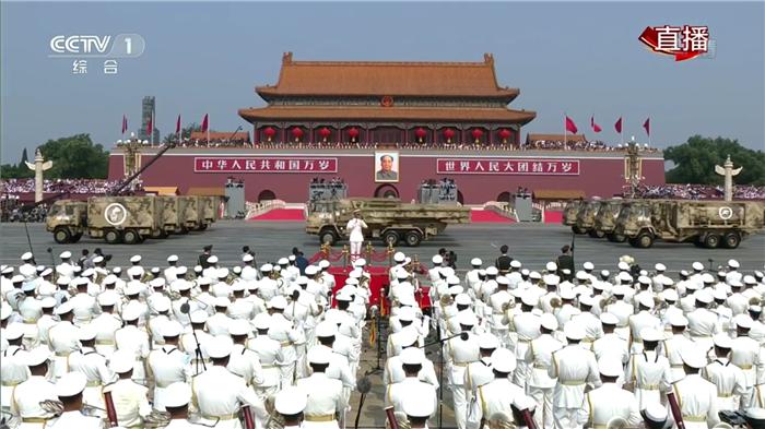 举国同庆70华诞,中国应急装备再次参加国庆阅兵